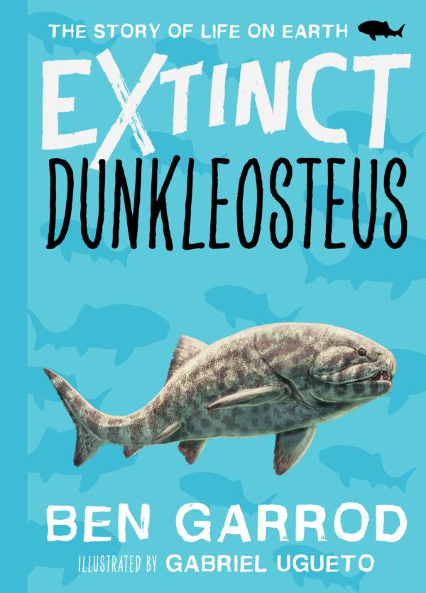 Extinct Dunkleosteus by Ben Garrod